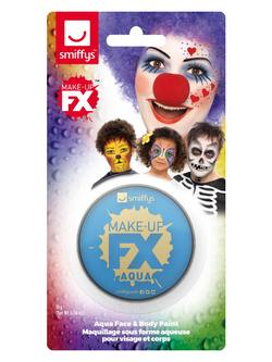 Világoskék Vízbázisú Arcfesték Make-Up Fix - 16 ml