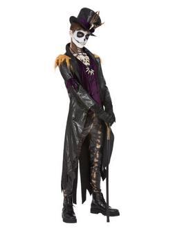 Voodoo Boszorkány Orvos Férfi Jelmez Halloweenre