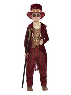 Voodoo Boszorkány Orvos Kisfiú Jelmez Halloweenre