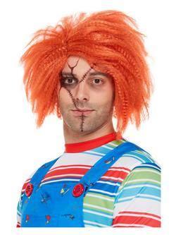 Vörös Chucky Paróka