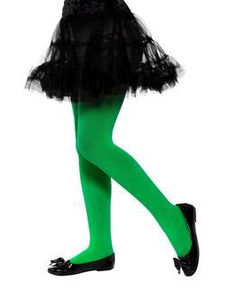Zöld Áttetsző Kislány Harisnyanadrág