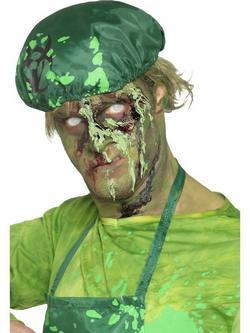 Zöld Biológiailag Veszélyes Szörny Alvadt Művér
