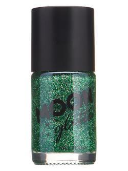 Zöld Csillámos Körömlakk - 14 ml