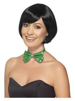 Zöld Flitteres Csokornyakkendő