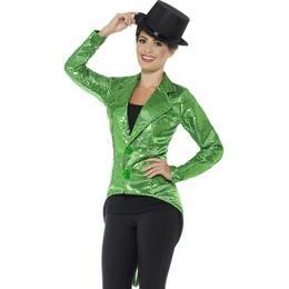 Zöld Flitteres Női Zakó
