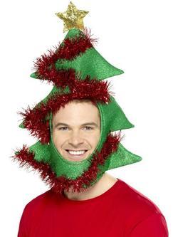 Zöld Karácsonyfa Sapka