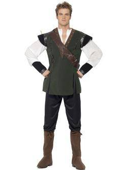 Zöld Robin Hood Férfi Jelmez