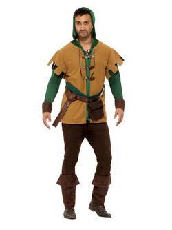 Robin Hood Jelmez Férfiaknak Tunikával és Egyéb Kiegészítőkkel - M