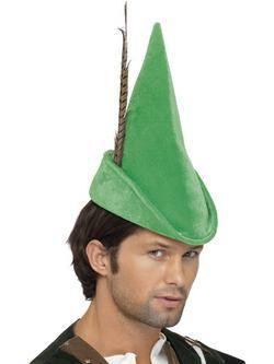 Zöld Robin Hood Sapka