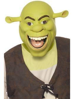 Zöld Shrek Maszk