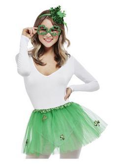 Zöld Szent Patrik Napi Női Parti Szett