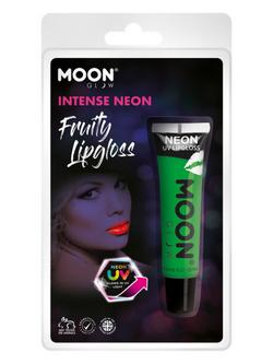 Zöld UV Neon Gyümölcsös Szájfény - Alma - 15 ml