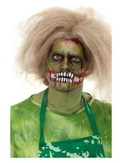 Zombi Arc Ihlette Zöld Arcfesték Készlet Make-Up Fix