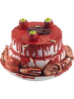 Zombi Torta Halloween Dekoráció